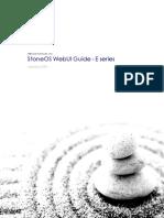 StoneOS WebUI User Guide E