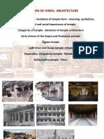 Evolution of Hindu Temple Architecture