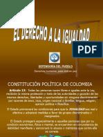 Presentación-DERECHO A LA IGUALDAD