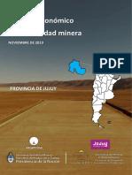 Impacto Económico de La Actividad Minera Provincia de Jujuy