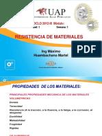 Semana 1 - 2 Propiedades de los Materiales
