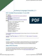voiceXML2.1