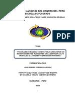 Cardenas Laguna tesis antamina