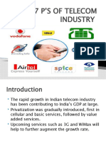 7 P'S OF TELECOM INDUSTRY