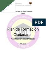 Plan Formacion Ciudadana 2017