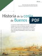 Historia de Costas Buenos aAires