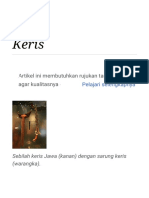 Keris - Wikipedia bahasa Indonesia, ensiklopedia bebas