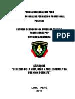 11 Derecho de La Niã'a Niã'o y Adolescente y La Funcion Policial Escuela