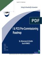 I & PCS Pre-Commissioning Roadmap.pdf