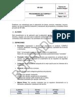 Pr-19 Procedimiento de Compras y Logistica v.12
