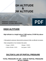 HIGH & LOW ALTITUDE