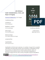 Book Forum - Daniel Renfrew's Life Without Lead- Contamination, Crisis, And Hope in Uruguay