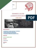 La narrativa social boliviana