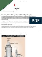 Balancing Coal Pipes - Power Engineering