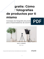 Como Tomar Fotografias de Productos Por Ti Mismo - Holly Cardew
