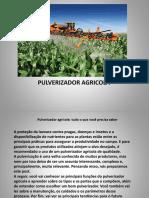 treinamento PULVERIZADOR AGRICOLA