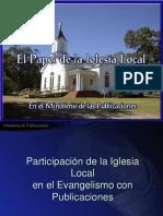 V - El Papel de la Iglesia Local en el Ministerio de las Pub - Copy.ppt