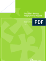 Well-Being Programme Report
