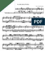 Bach - Fiorentino - Sarabanda