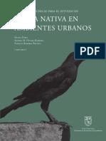 Técnicas para determinación de fauna en espacio urbano