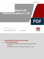 Attach failure Issues leading to UE difficult to camp in LTE - 18 Nov 2014