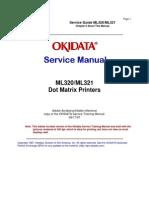 OKI 320-321 Service Manual
