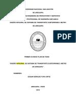 Plan-de-Tesis-Sistema-de-Transporte-Electrico-Subterráneo