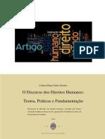 O Discurso dos Direitos Humanos-Teoria, Práticas e Fundamentação, Liliana Filipa Nunes Simões,2014