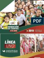 Rendición de cuentas de la Gobernación de Bolívar 2016-2019