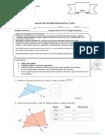 evaluacion matematica 6° año
