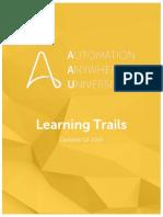 AAU Learning Trail Catalog - July 2019 - V2