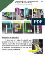 Práctica 7; LEY DE HOOKE Y MÓDULO DE YOUNG