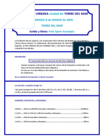 Reglamento IV Carrera Urbana Ciudad de Torre Del Mar