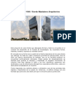 Artículo Arquitectura - Edificio Américas 1500