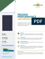 Data Sheet Panel