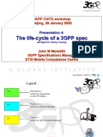 3GPP CWTS Workshop 04 the Life Cycle of a Spec