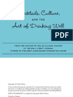 How's Your Drink-- Cocktails- Culture- And the Art of Drinking Well Escrito Por Eric Felten
