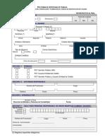 Formulario SSAE - PCT