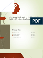 Complex Engineering Problem(CEP) of Engineering-1