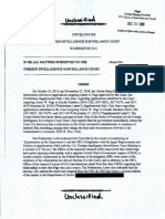 FISC orders FBI to Hand Over Kevin Clinesmith Info