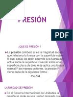 Exposicion de presion