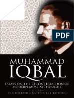 H. C. Hillier, Basit Bilal Koshul - Muhammad Iqbal_ Essays on the Reconstruction of Modern Muslim Thought-Edinburgh University Press (2017)
