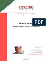 Experton Group XPG Research Note Browser Matters Final für NL