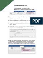 Pasos para agregar una cita bibliográfica en Word.docx