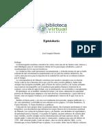 Epistolario. José Joaquín de Olmedo (Libro Digital)