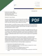 Respuesta de la IFES al presidente de la JCE