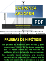 06 ESTADISTICA - Pruebas de Hipótesis