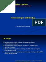 Kolorimetrija i multimedija - 2007 -