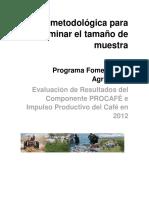 Fomento Productivo Del Café Nota Metodólogica de Muestreo_Ver6