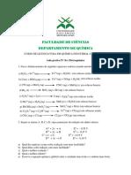 Química Inorgânica II